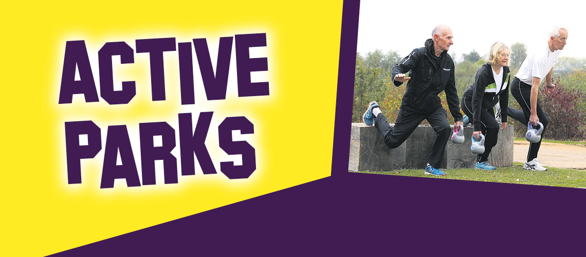 Active Parks with active runners with weights