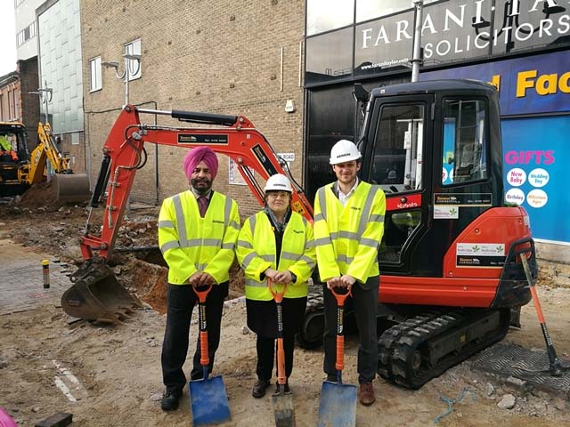 Image of Town centre regeneration begins