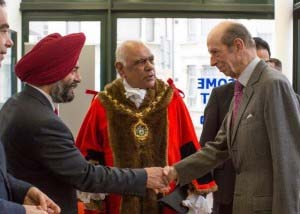 Image of Duke of Kent visits Redbridge
