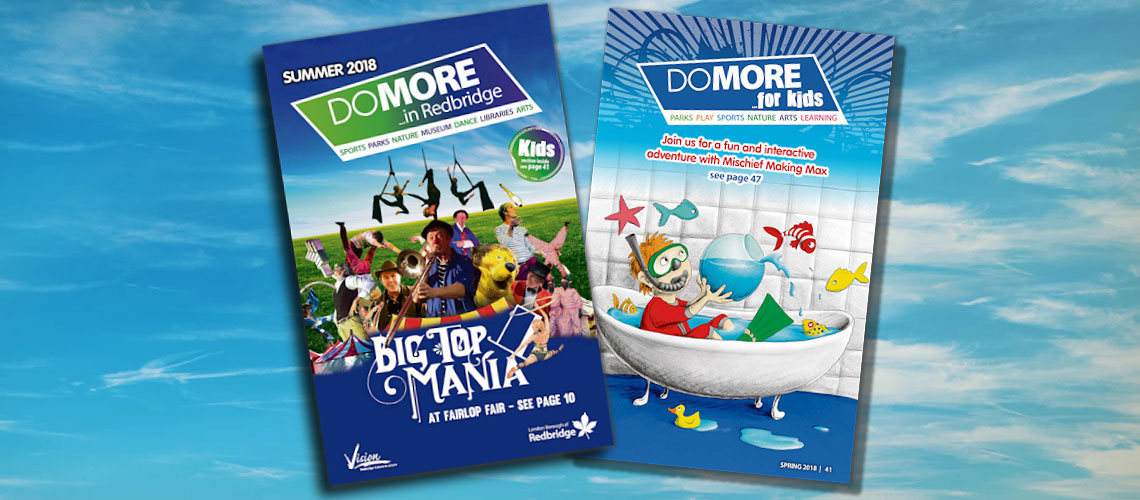 the front adults cover and kids cover of the summer do more