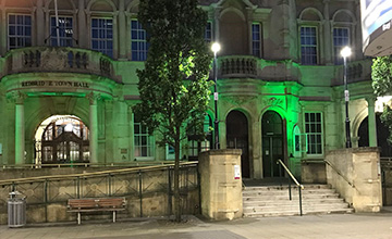 image of Council goes Green for Grenfell