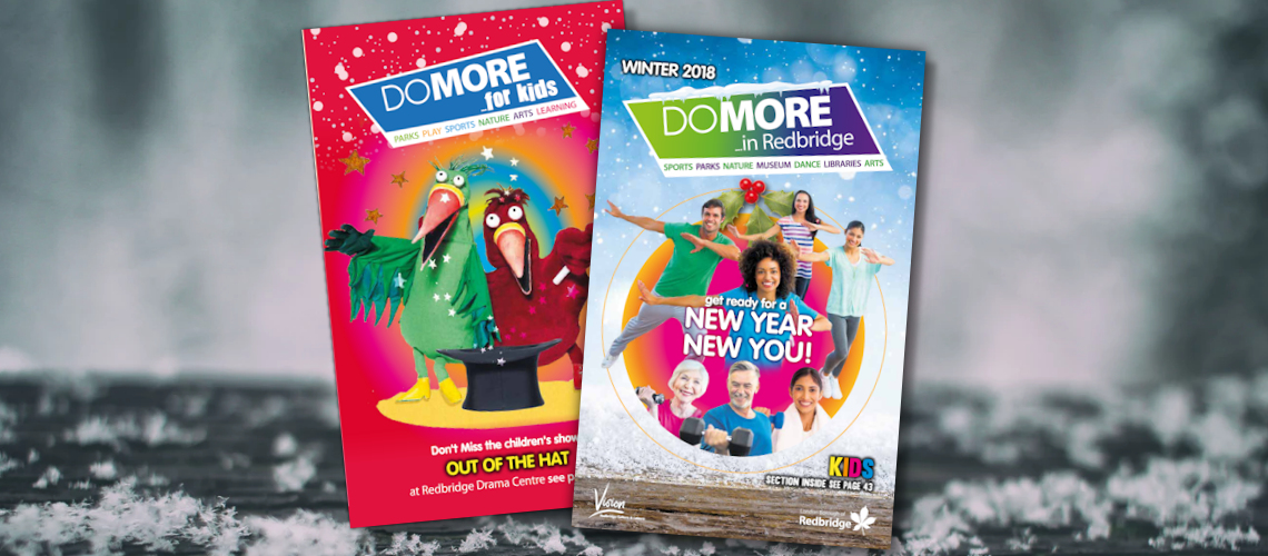 the front adults cover and kids cover of the winter do more