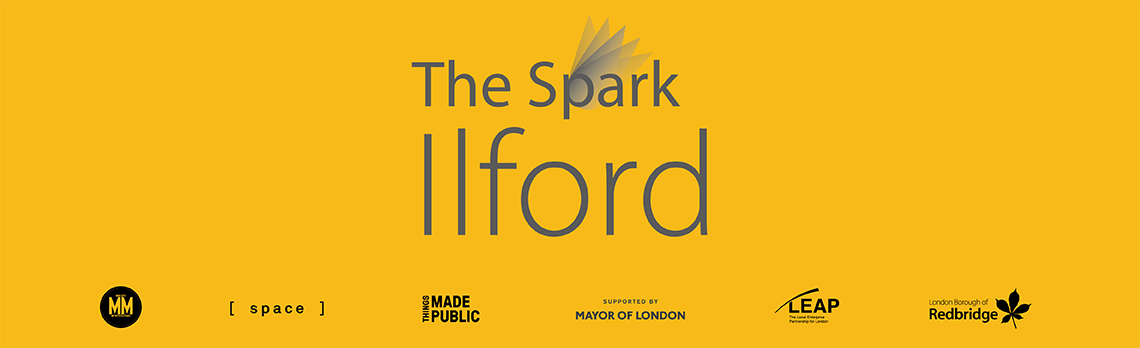 The spark Ilford logo and partner logos