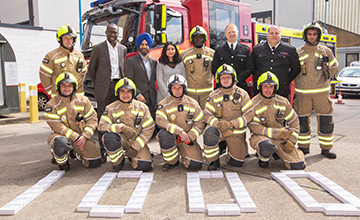 image of Redbridge receives 1000 smoke alarms from the London Fire Brigade