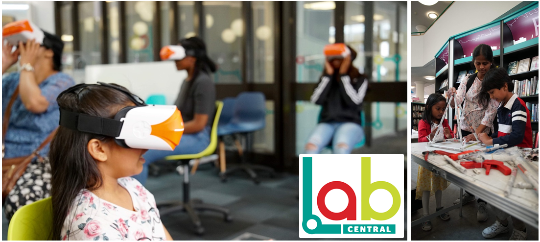 Children and young people experiencing virtual reality