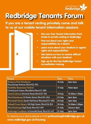 Redbridge - Landlord and Private Tenant Forum