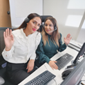 Zenab and Sadia  Customer Services